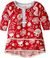 Hatley Kids - Pom Pom Tunics - Field Flowers - Silhouette (Toddler/Little Kids/Big Kids)