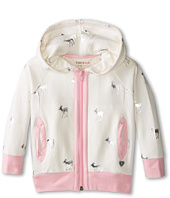 Hatley Kids - Terry Hoodie - Silver Deer (Toddler/Little Kids/Big Kids)