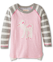 Hatley Kids - Raglan Tee - Soft Deer (Toddler/Little Kids/Big Kids)