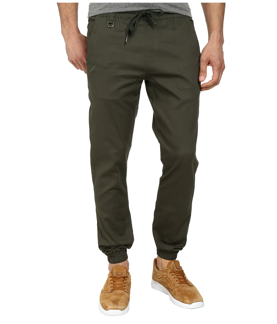Publish - Sprinter Jogger Pants (Olive) Men's Casual Pants