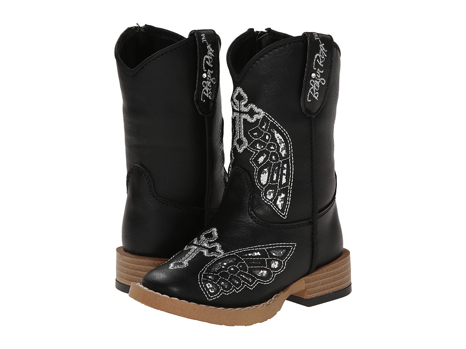 Blazin Roxx Gracie (Toddler) (Black) Cowboy Boots