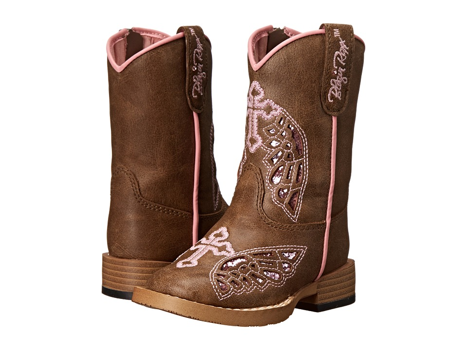 M&F Western - Gracie (Toddler) (Brown) Cowboy Boots