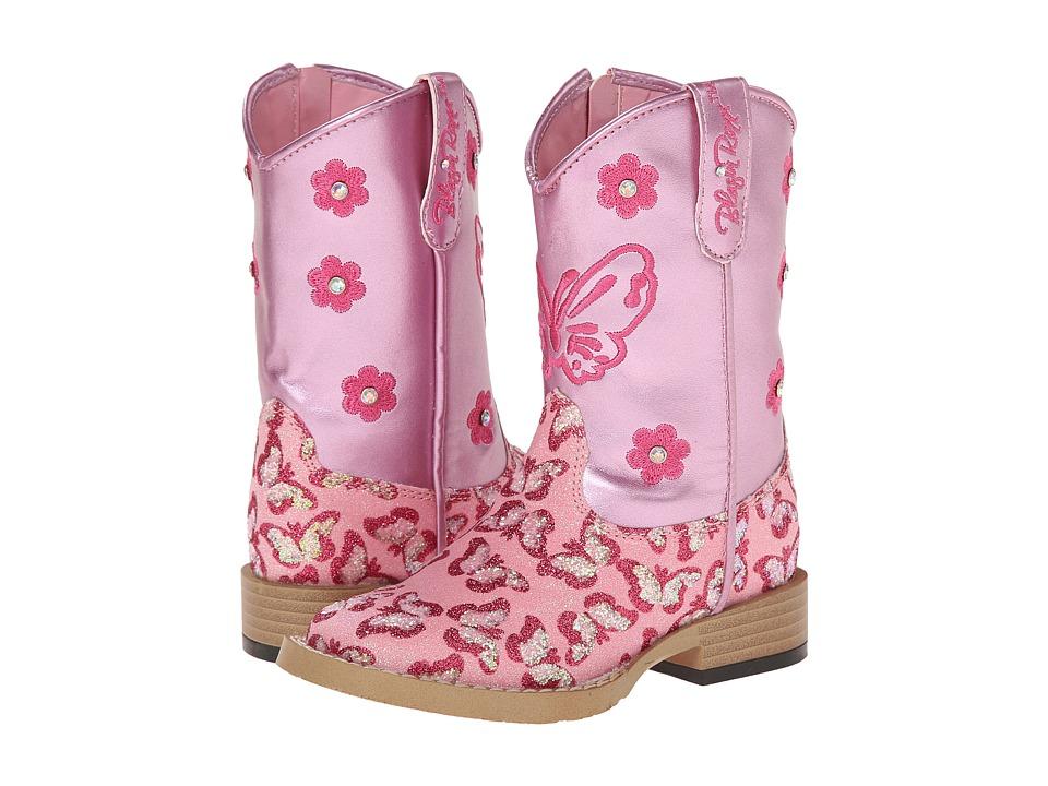 Blazin Roxx Pecos (Toddler) (Pink) Cowboy Boots