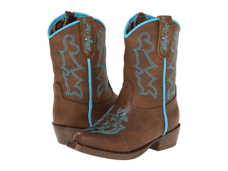 Blazin Roxx Caroline (Toddler) (Brown) Cowboy Boots