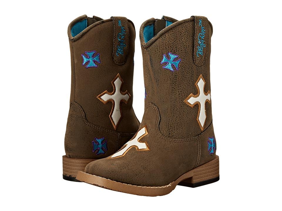 M&F Western - Sierra (Toddler) (Brown) Cowboy Boots