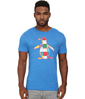 Original Penguin - The Madras Pete Fill Heritage Tee