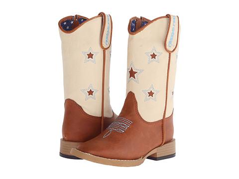 M&F Western Lone Star Zip (Toddler) - Brown
