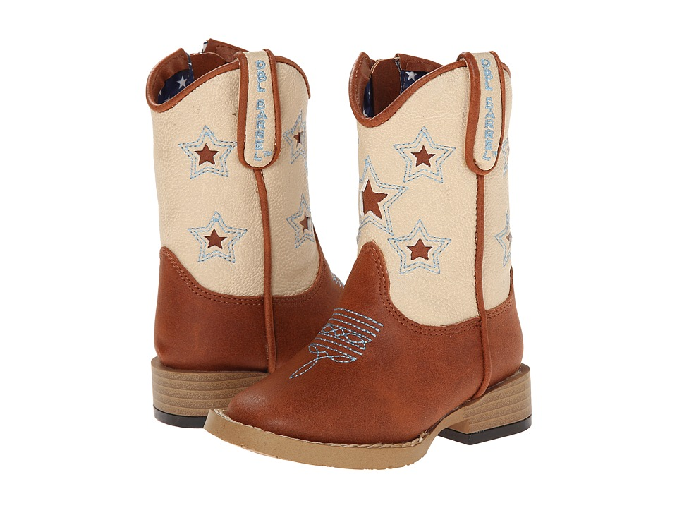 Blazin Roxx Lone Star (Toddler) (Brown) Cowboy Boots