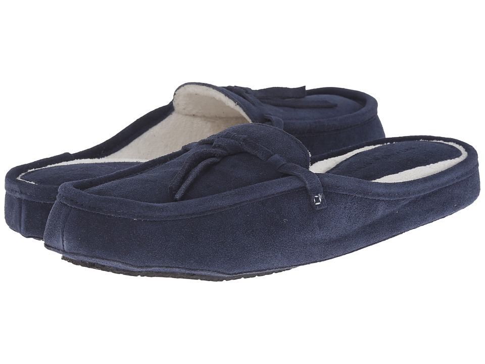 Patricia Green Greenwich (Navy) Slippers