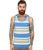 Original Penguin - Yarn Dye Heathered Stripe Heritage Tank Top