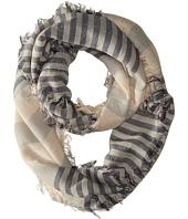 Michael Stars - Cozy Stripe Eternity Scarf