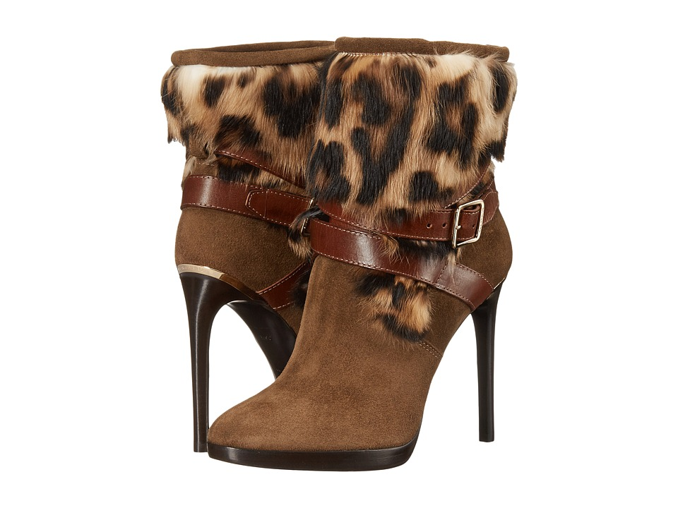 Burberry Cadey Bronze Womens Pull on Boots