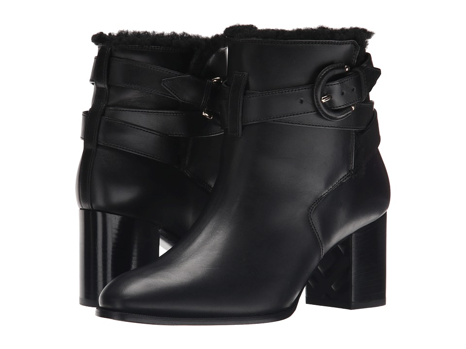 Burberry Thornton Black Womens Pull on Boots