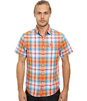 Original Penguin - Ombre Plaid Woven Short Sleeve Heritage Shirt