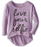 The Original Retro Brand Kids - Love Your Selfie Hi Low Dolman (Big Kids)