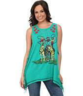 Double D Ranchwear - Girl Trick Ropers Tank Top