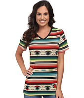 Double D Ranchwear - Little Flower Serape Tee