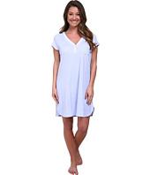 Karen Neuburger - Fresh Linen Short Sleeve Pullover Nightshirt
