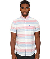 Original Penguin - Horizontal Stripe Short Sleeve Woven Heritage Shirt