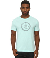Original Penguin - Triblend Distressed Circle Logo Tee
