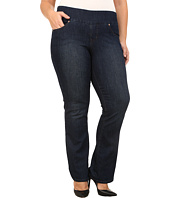 Jag Jeans Plus Size - Plus Size Paley Pull On Boot Leg in Blue Shadow