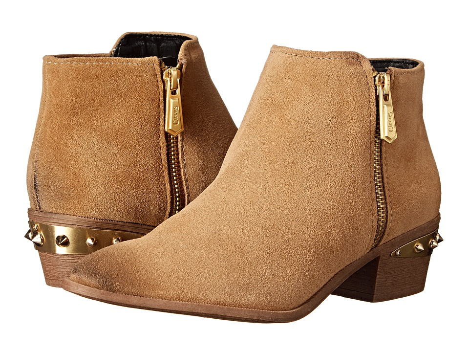 Circus by Sam Edelman Holt Camel Womens Zip Boots