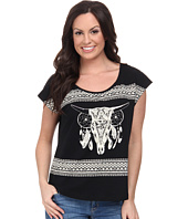 Rock and Roll Cowgirl - Short Sleeve Boxy Tee 47-3388