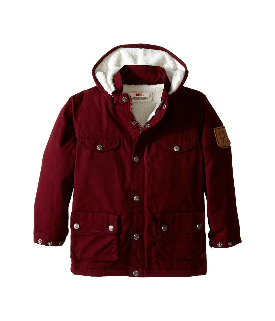 Fj llr ven Kids Kids Greenland Winter Jacket Dark Garnet Kids Coat
