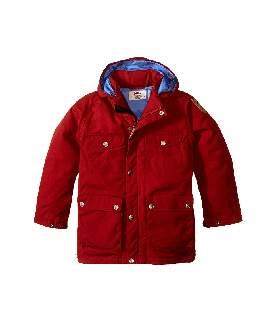 Fj llr ven Kids Greenland Down Parka Big Kids Deep Red Kids Coat