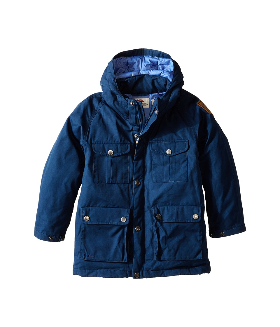 Fj llr ven Kids Greenland Down Parka Big Kids Blueberry Kids Coat