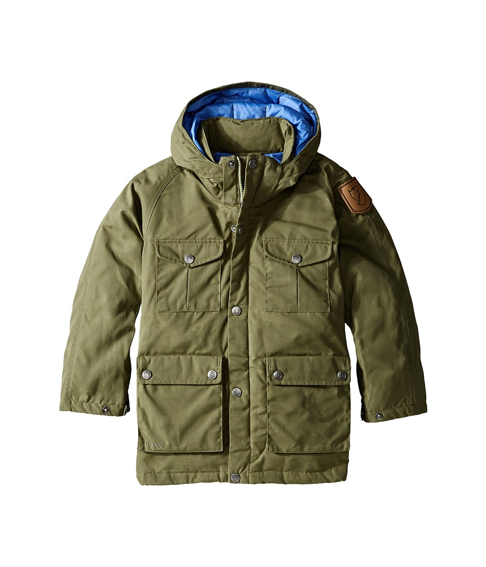 Fj llr ven Kids Greenland Down Parka Big Kids Green Kids Coat