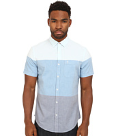 Original Penguin - Color Blocked Oxford Woven Short Sleeve Heritage Shirt