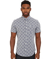 Original Penguin - Dobby Polka Dot Woven Short Sleeve Heritage Shirt