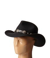 San Diego Hat Company - WFH7946 Wool Felt Cowboy Hat with Leather Concho Band