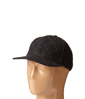 San Diego Hat Company - SDH2047 Quilted Wool Cap with Adjustable Back
