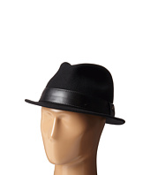 San Diego Hat Company - SDH2037 Fedora with Black Faux Leather Band