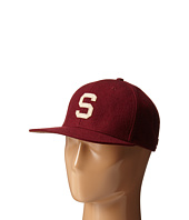 San Diego Hat Company - SDH20141 Wool Cap with Felt Applique and Adjustable Back