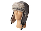 San Diego Hat Company SDH2067 Faux Fur Trapper with Faux Leather Trim