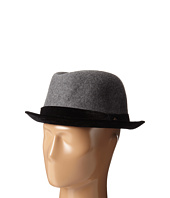 San Diego Hat Company - SDH2039 Wool Felt Crown with Velvet Brim Porkpie