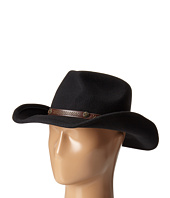 San Diego Hat Company - WFH7996 Cowboy Hat with Brown Leather Band