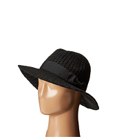 San Diego Hat Company - CTH4117 Woven Yarn Stitch Fedora with Grosgrain Bow