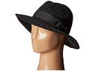 San Diego Hat Company CTH4117 Woven Yarn Stitch Fedora with Grosgrain Bow