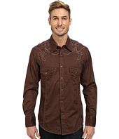 Rock and Roll Cowboy - Long Sleeve Snap B2S3027