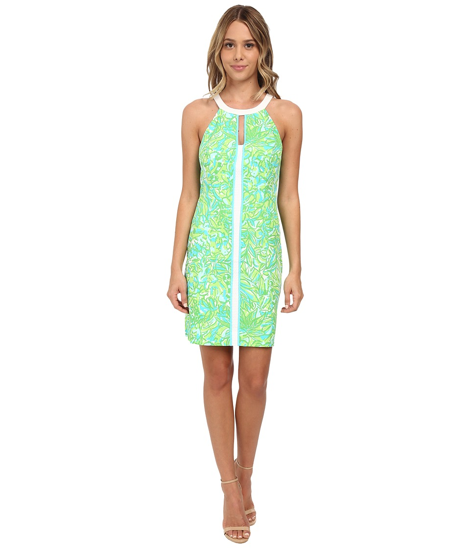 Lilly Pulitzer - Pearl Shift Dress Fresh Citrus Womens Dress $198.00 AT vintagedancer.com