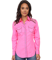 Rock and Roll Cowgirl - Long Sleeve Snap B4S2502
