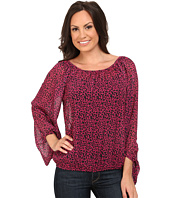 Rock and Roll Cowgirl - 3/4 Sleeve Top B4-3789