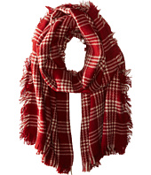San Diego Hat Company - BSS1533 Plaid Scarf with Fray Edges