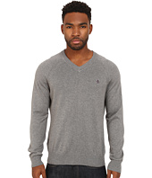 Original Penguin - Long Sleeve Raglan Jersey V-Neck w/ Raglan