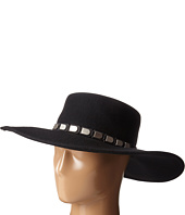 San Diego Hat Company - WFH8013 Floppy Brim with Silver Faux Leather Band