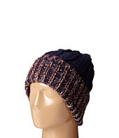 San Diego Hat Company - KNH3378 Oversized Cable Knit Beanie with Marled Yarn Cuff